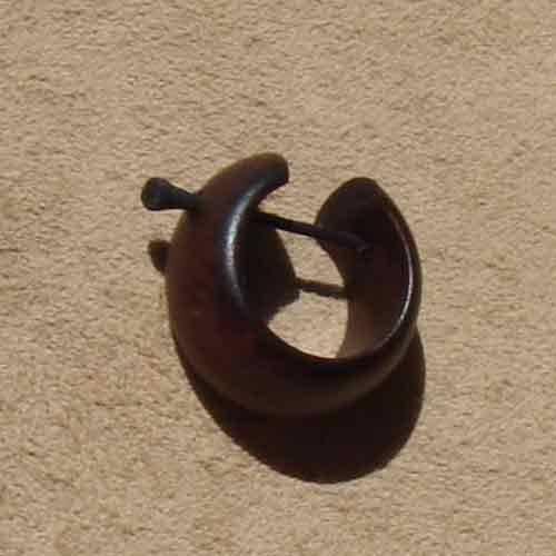 Creole Holz 1,8cm Schmuck Ohrschmuck
