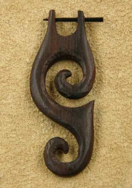 Creole Kreativ Holz Ohrschmuck