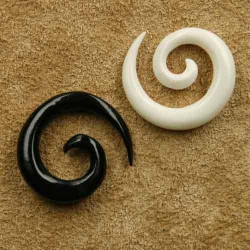 Ohrpiercing Spirale Dehnungsspirale 2mm / 1,5cm