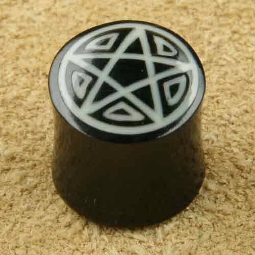 Ohrpiercing Pentagramm Ohrplug