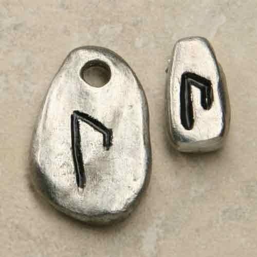 Rune Uruz aus Schmuckzinn