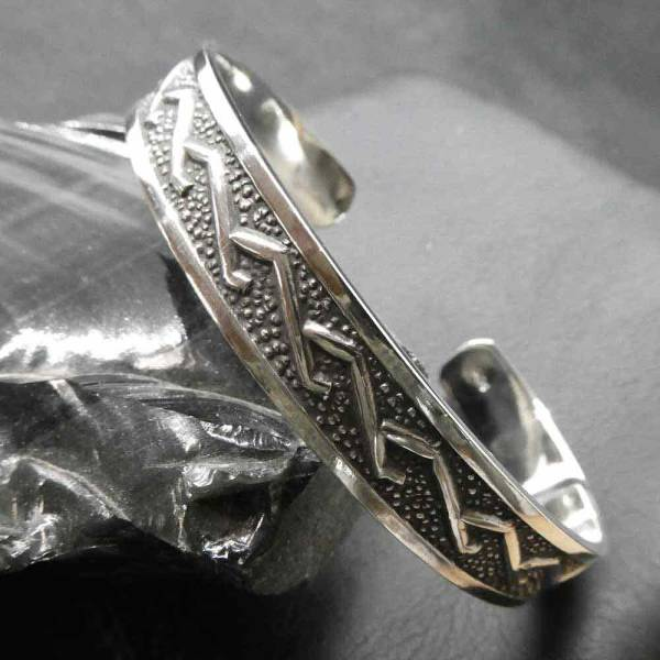 Armschmucki massiv Silber edel