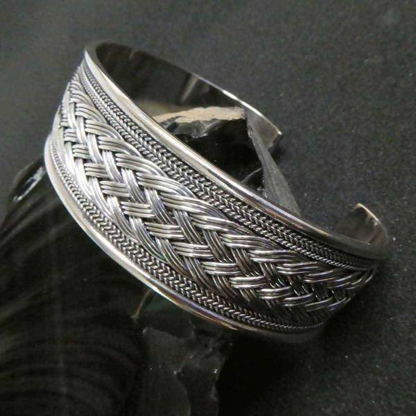 Wikinger Armschmuck Silber massiv Männer