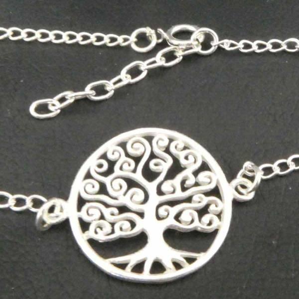 Baum des Lebens Armkettchen Silber Armschmuck