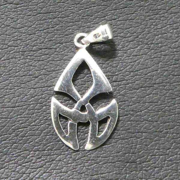 keltischer Schmuck Knoten Anhänger Silber