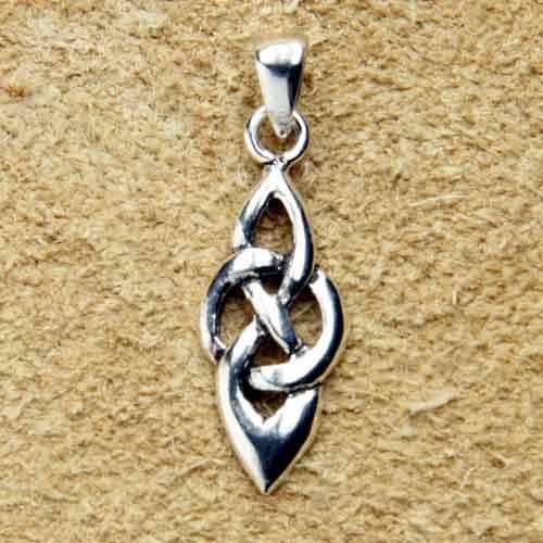 Kelten Knoten Silberschmuck Anh