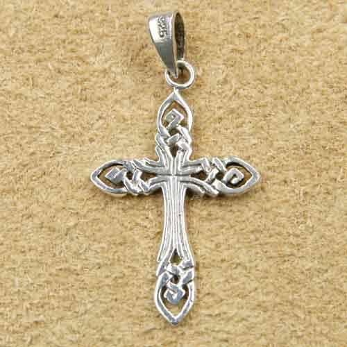 keltisches Kreuz Schmuck Anhänger fein