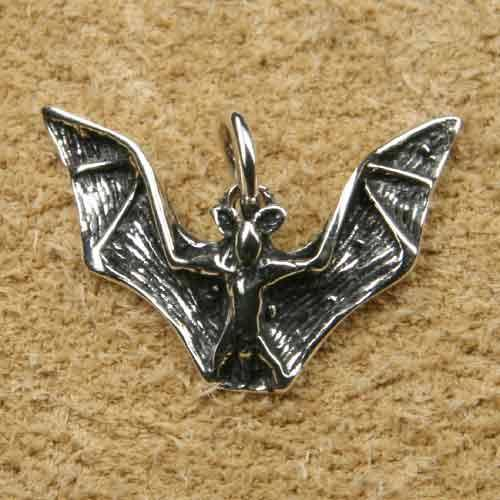 Fledermaus Kettenanhänger Silber Schmuck