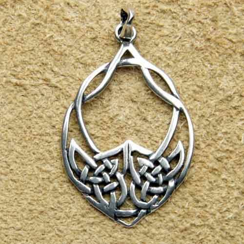 Keltischer Schmuck Anhänger Silber