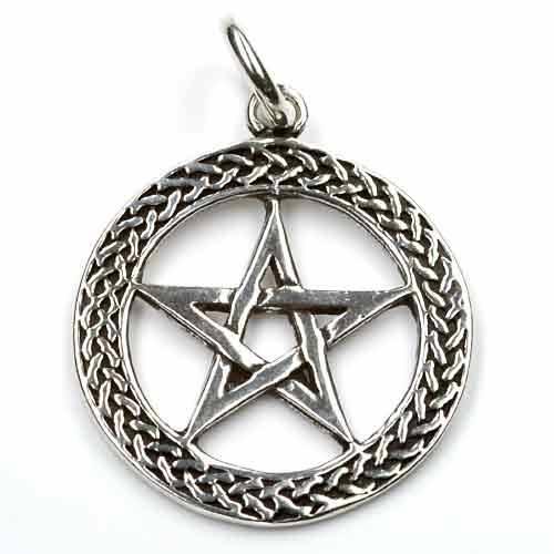 Pentagramm Schmuck keltischer Knoten