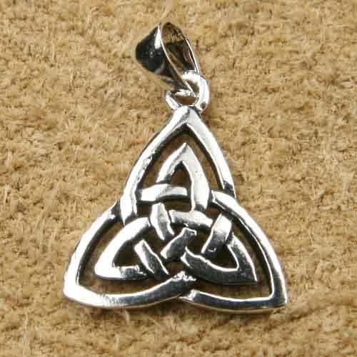 keltischer Schmuck Kettenanhänger Silber