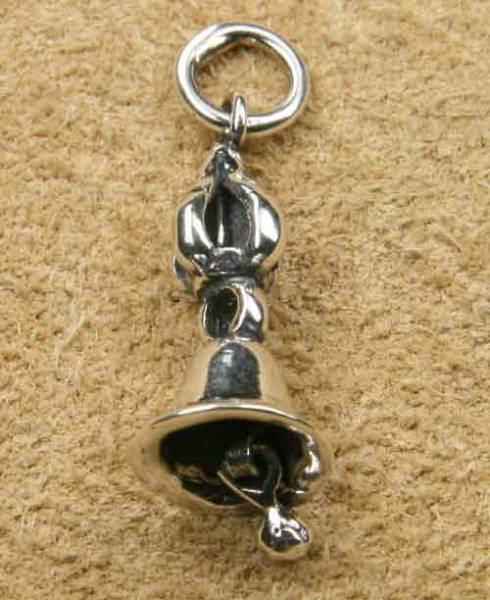 Tempelglocke Schmuck Silber Glocke
