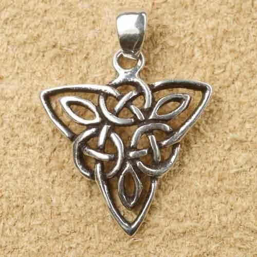 keltischer Schmuck Dreieck Silberschmuck