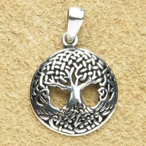Lebensbaum mini Silberschmuck Anh