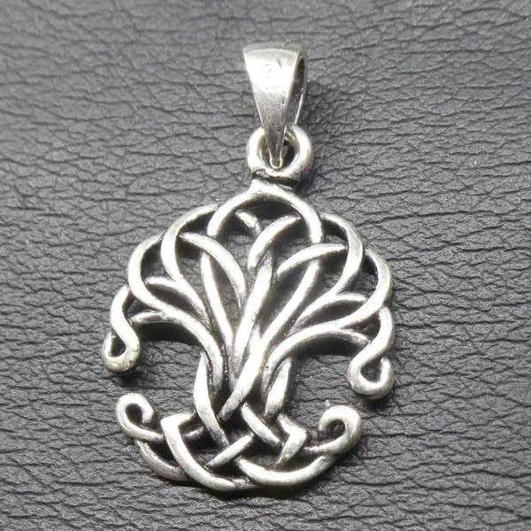 Kelten Knoten Lebensbaum Silber Schmuck