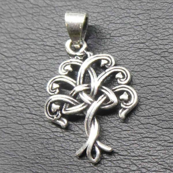 keltischer Schmuck Lebensbaum Silber