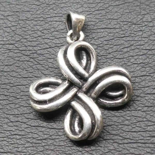 Keltisches Kleeblatt Anhänger Silber