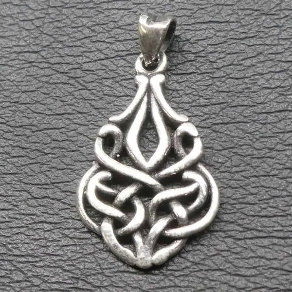 Keltischer Knoten Schmuck Silber Anhänger
