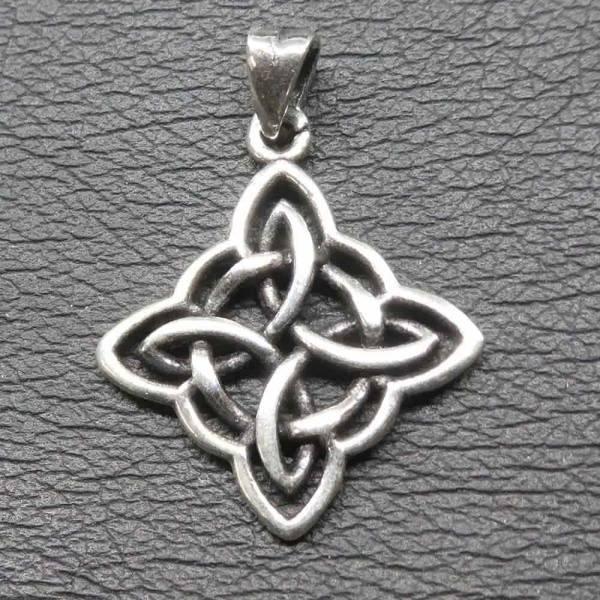 Keltischer Knoten Silber Anhänger Schmuck