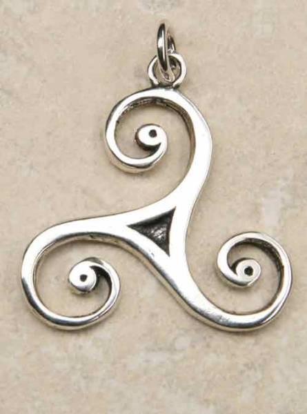 Triskelion Schmuck 925 Silber keltischer Schmuck