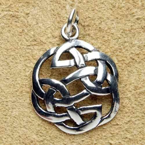 keltischer Knoten Silberschmuck Anh