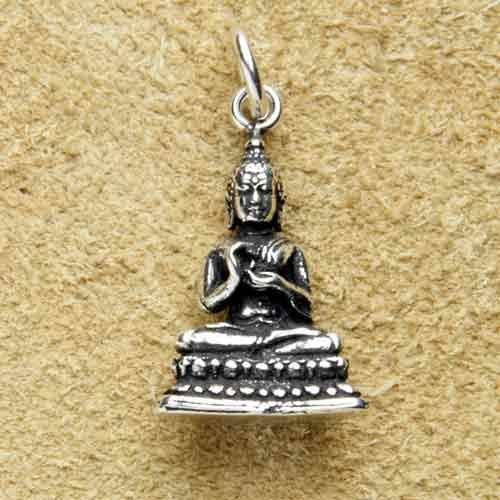 Buddha Schmuck 925 Silber