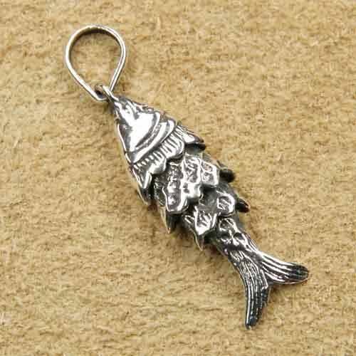 Backfisch Schmuck Silber Fisch
