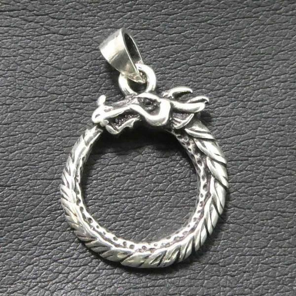 Neu Folkloreschmuck Wikinger Midgardschlange Brosche Bronze Gothic Schmuck