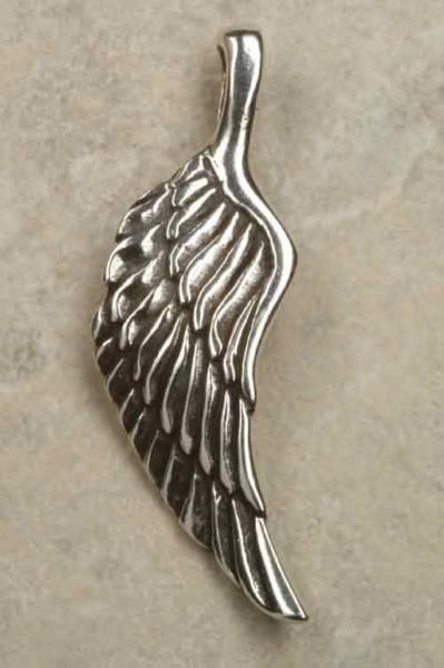 Engel Flügel Schmuck Silber Anhänger