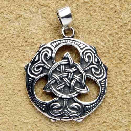 keltischer Schmuck Kettenanhänger 925 Silber