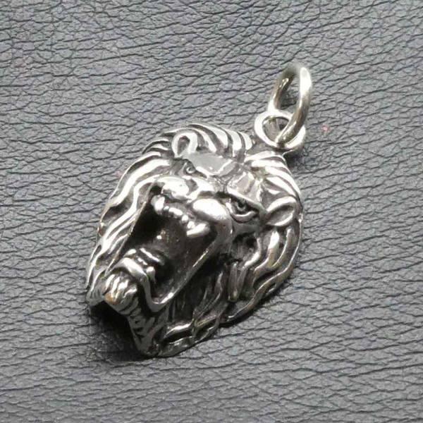 Löwen Schmuck Silber Anhänger