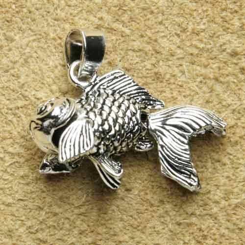 Fisch beweglich Silberschmuck