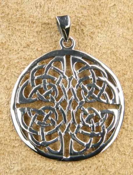 keltischer Schmuck Anhänger Vierjahreszeiten Silber