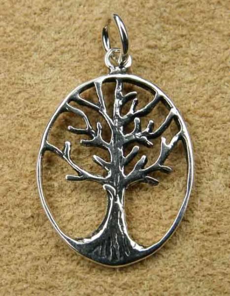 Lebensbaum keltisch Silber Schmuck