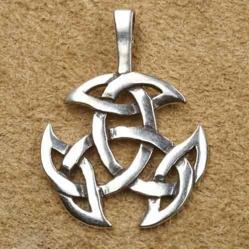 offene Dreifalt 925 Sterling Silber Anh