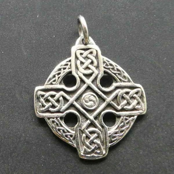 Keltenkreuz Silber Schmuck Keltenknoten