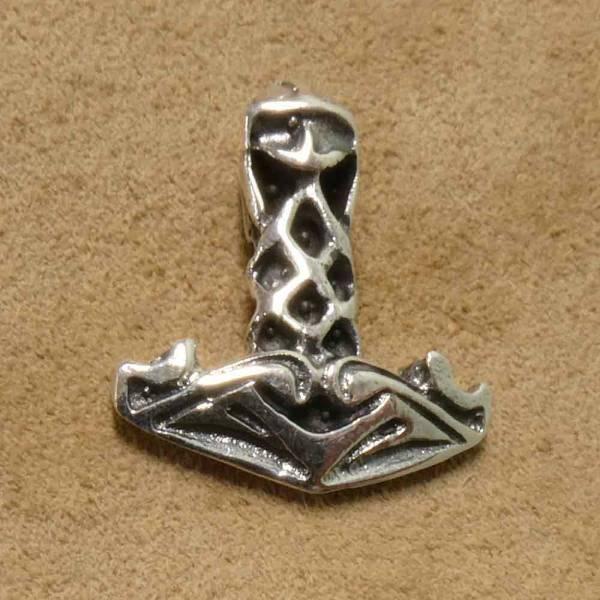 Thorshammer klein Schmuck Silber