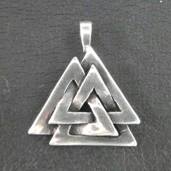 Wotansknoten Schmuck Silber Valknut