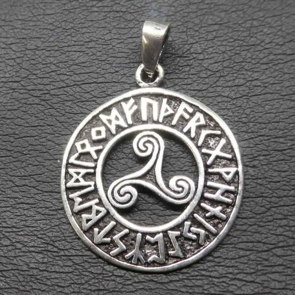 Triskel Runen Schmuck Silber keltisch