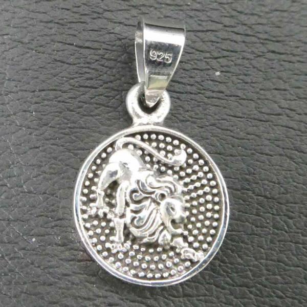 Löwe Schmuck Sternzeichen Tierkreis Silber