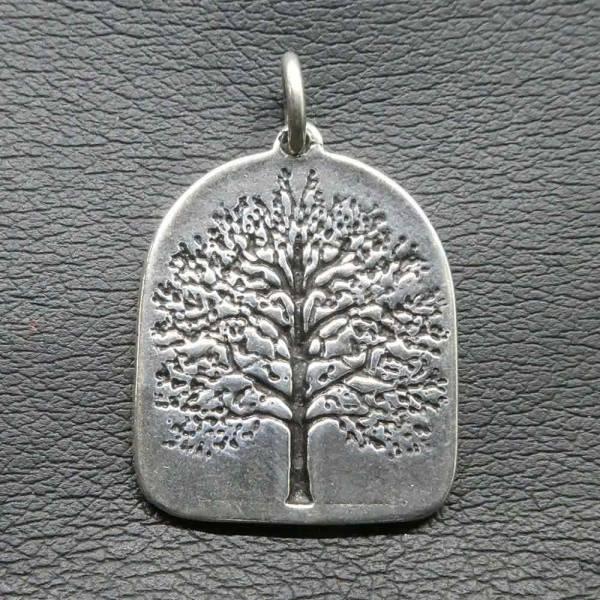 Lebensbaum Silber Kette Anhänger
