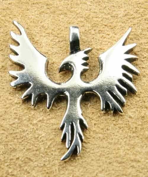 Phoenix Schmuck Anhänger Silber