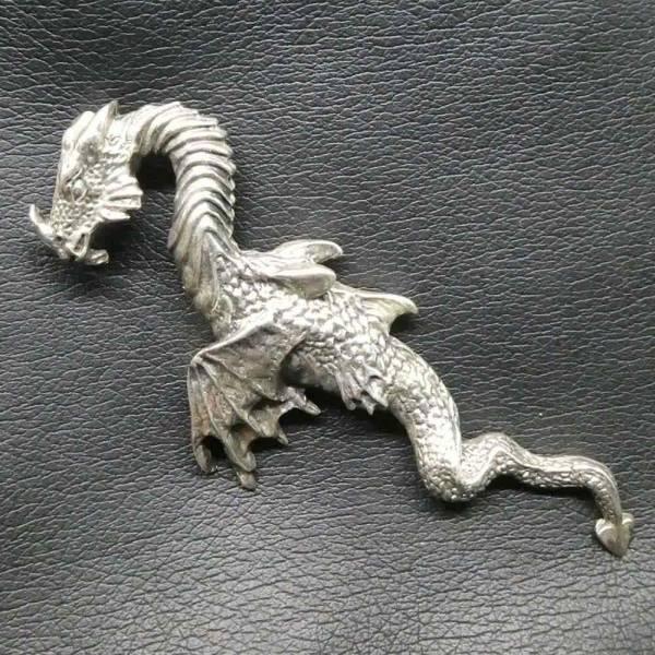 Drachen Anhänger Schmuck Silber Wasserdrache