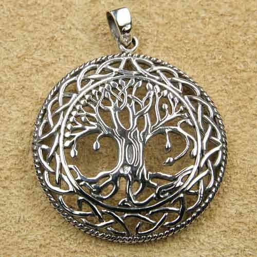 Lebensbaum Schmuck 925 Silber