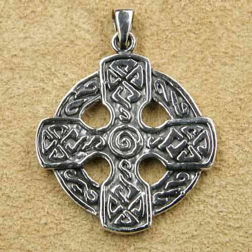 keltisches Kreuz Spirale Schmuck Keltenkreuz