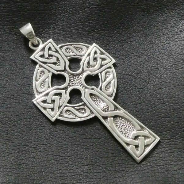 Keltenkreuz Schmuck Anhänger Silber