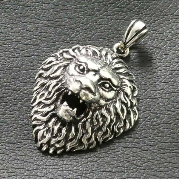 Löwe Schmuck Silber Anhänger