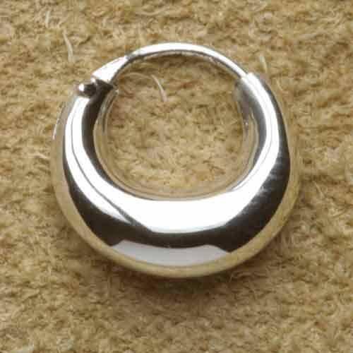 Creole Mond 925 Silber 12mm Kugel