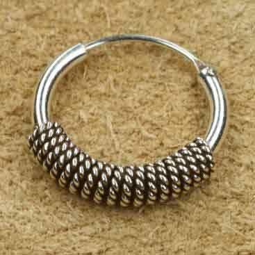 Kreole 925 Silber 14mm