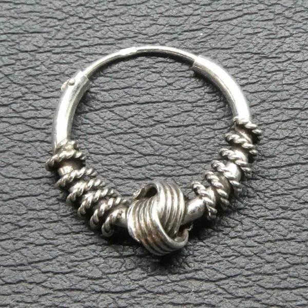 Creole Silber Schmuck Ohr Ohrring